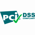 green PCI DSS compliant logo