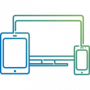multi device responsive icon