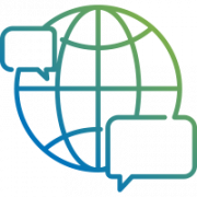 multilingual support icon